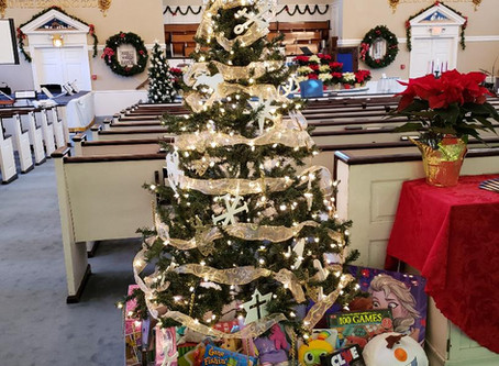 ANGEL TREE HAS ARRIVED AT FELLOWSHIP!