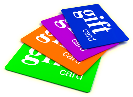 4th ANNUAL GIFT CARD FUNDRAISER