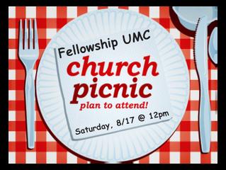 Fellowship UMC Picnic!