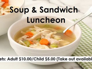 Soup & Sandwich Luncheon