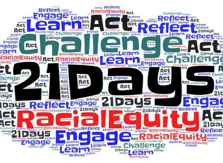 21 Day Race Equity Challenge (day 21)