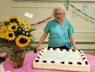 Fran Abbett - Celebrating 100 Years!