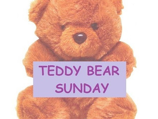 TEDDY BEAR SUNDAY
