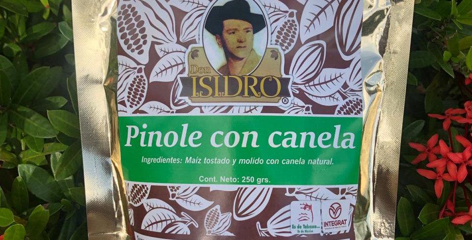 Pinole con Canela