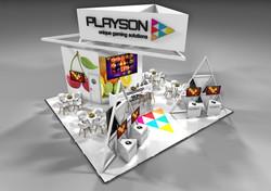 Playson 9m x 8.5m