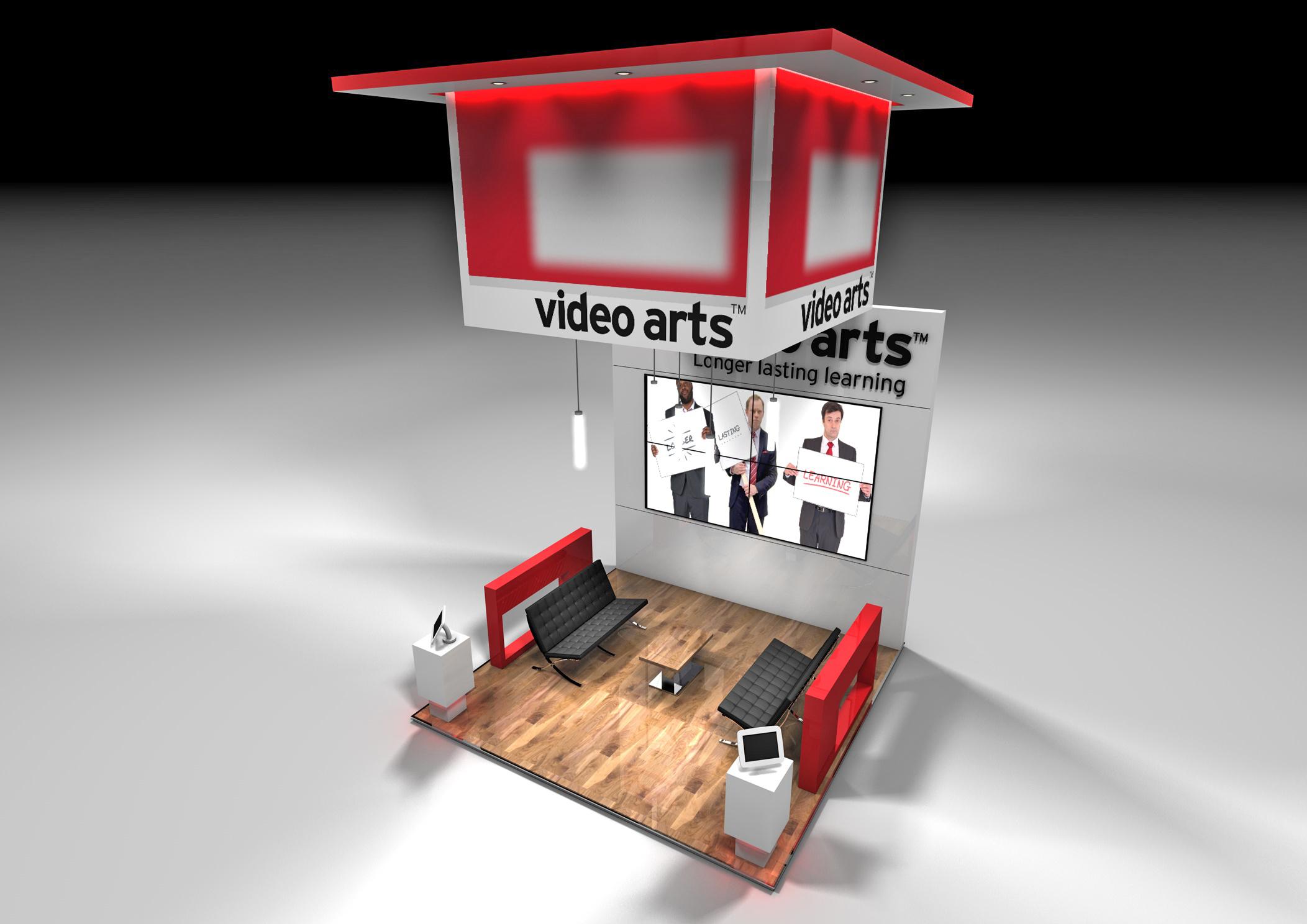 Video arts 4m x 4m