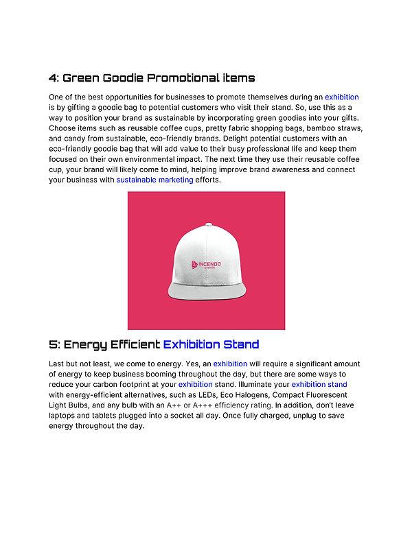 5 Ways To Make Your Exhibition Sustainab