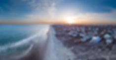Aerial Landscape Beach Ocean