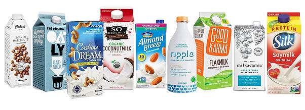 Environmental impacts of different milks