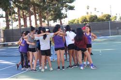 Girls Tennis 2018-2019
