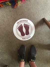 Sticker in situ