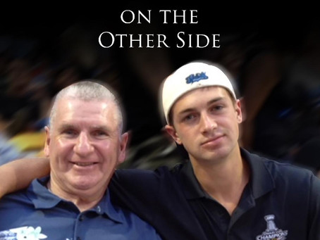 Joe Mquillen Visits  High Road, as he Continues His Search For Christopher On THe Other Side