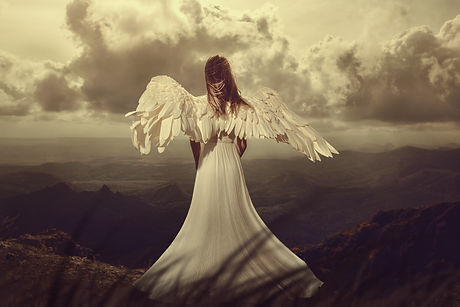 Back view of woman with wings. angel.jpg