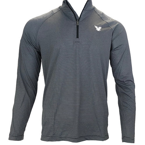 Men's Thunderbird Logo UA TechTM Stripe Quarter-Zip