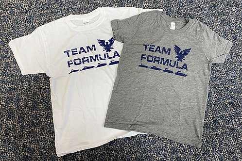 Youth Team Formula Vintage Tee