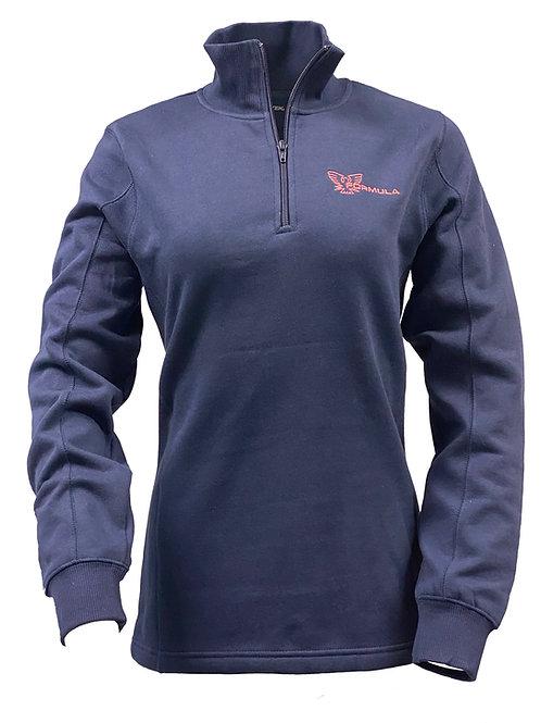Ladies' Formula Sport-Tek® Quarter-Zip Sweatshirt