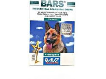 Bars for dogs