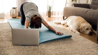 Online Slow Flow Adult Yoga Group Class