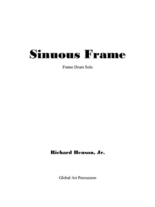 Sinuous Frame