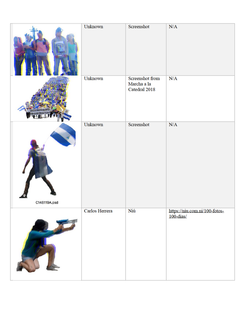 Image Citation Table 6