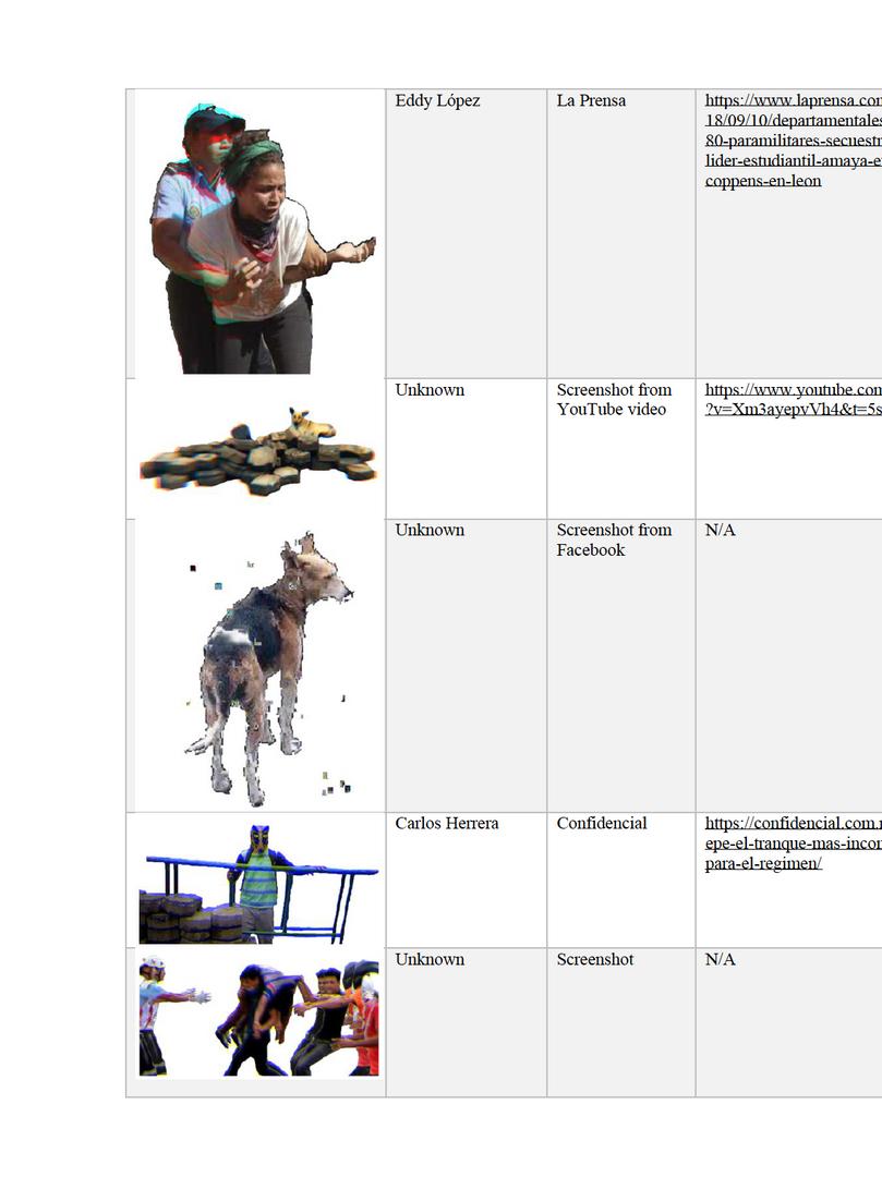 Image Citation Table 4