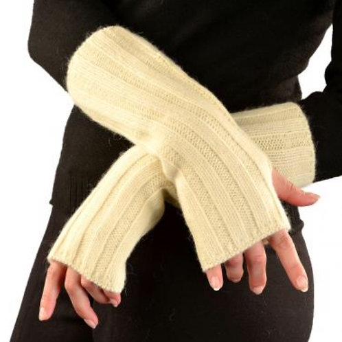Handstulpen in beige, Musteransicht