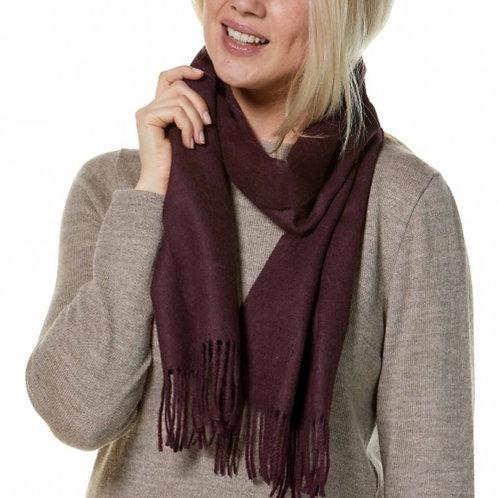 Uni Alpaka Schal, Ansicht Frau