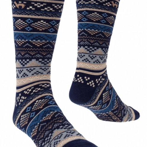 blau-sand Socken, Musteransicht