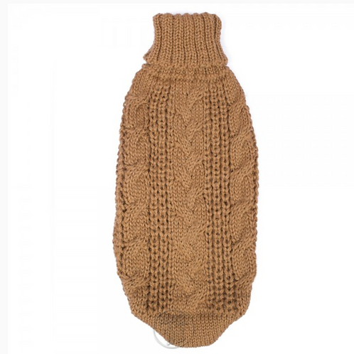 Chunky Cable Camel