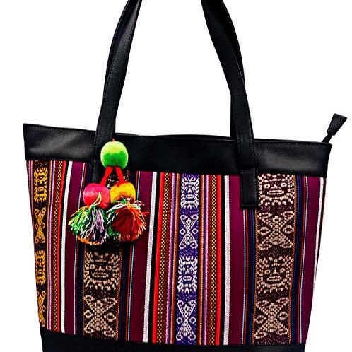 braune Shopper Tasche, Vorderansicht
