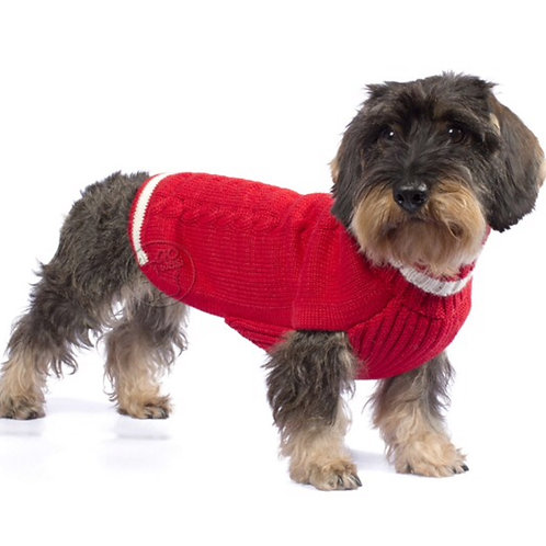 Hundepullover Vorderansicht