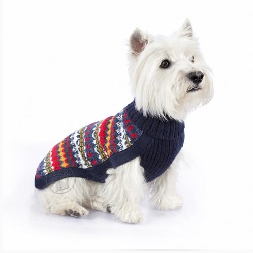 Hundepullover in Multicolor, Sitzansicht 2