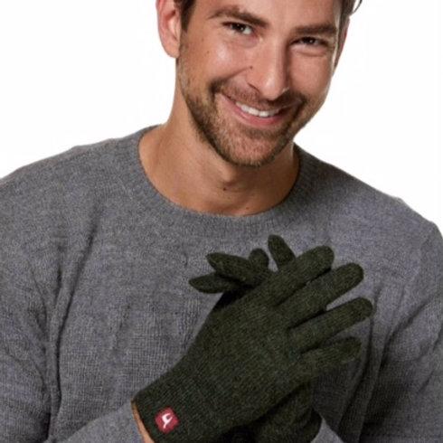 Fingerhandschuhe UNI Tannengrün