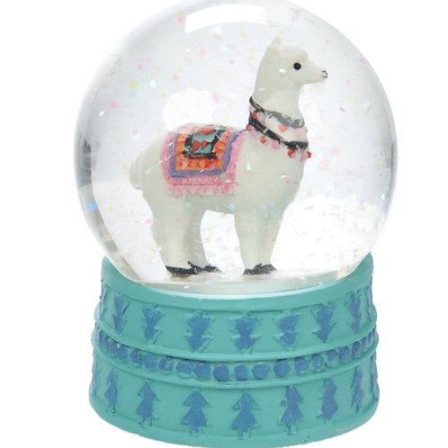 Alpaka Wasserball, Schneekugel