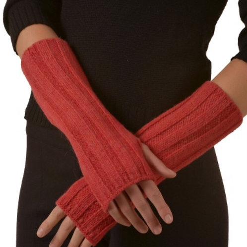 Handstulpen in rot, Musteransicht