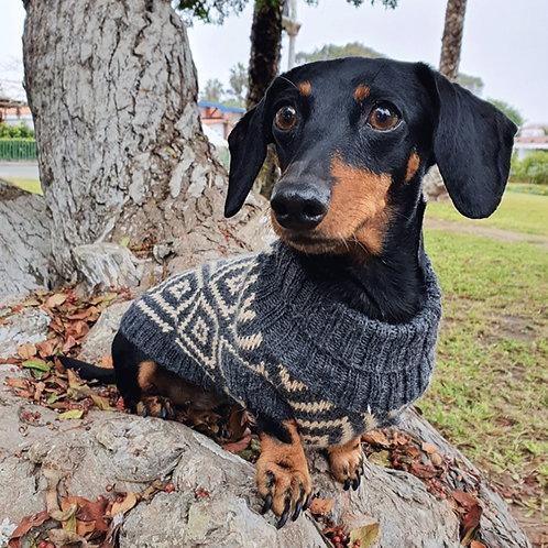 Hundepullover Alpaka RHOMBUS