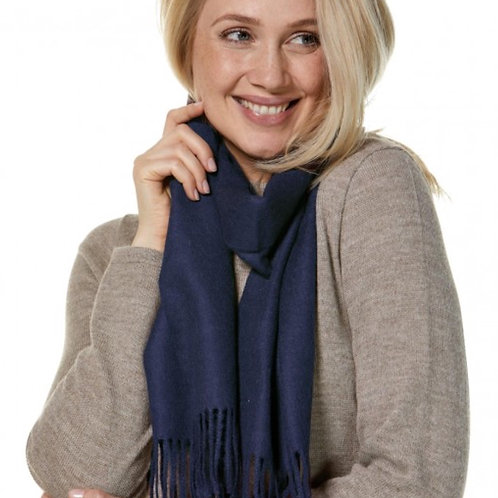 blaue Schal, Musteransicht