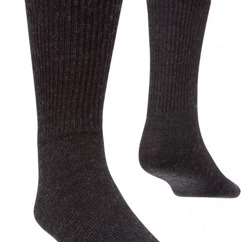 Alpaka SOFT Socken dunkel grau