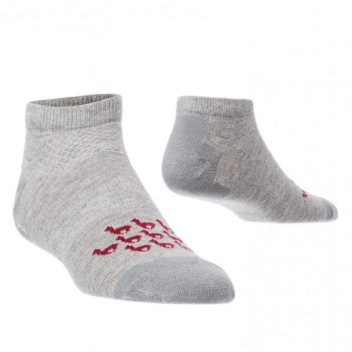 graue Sneaker Socken, Musteransicht