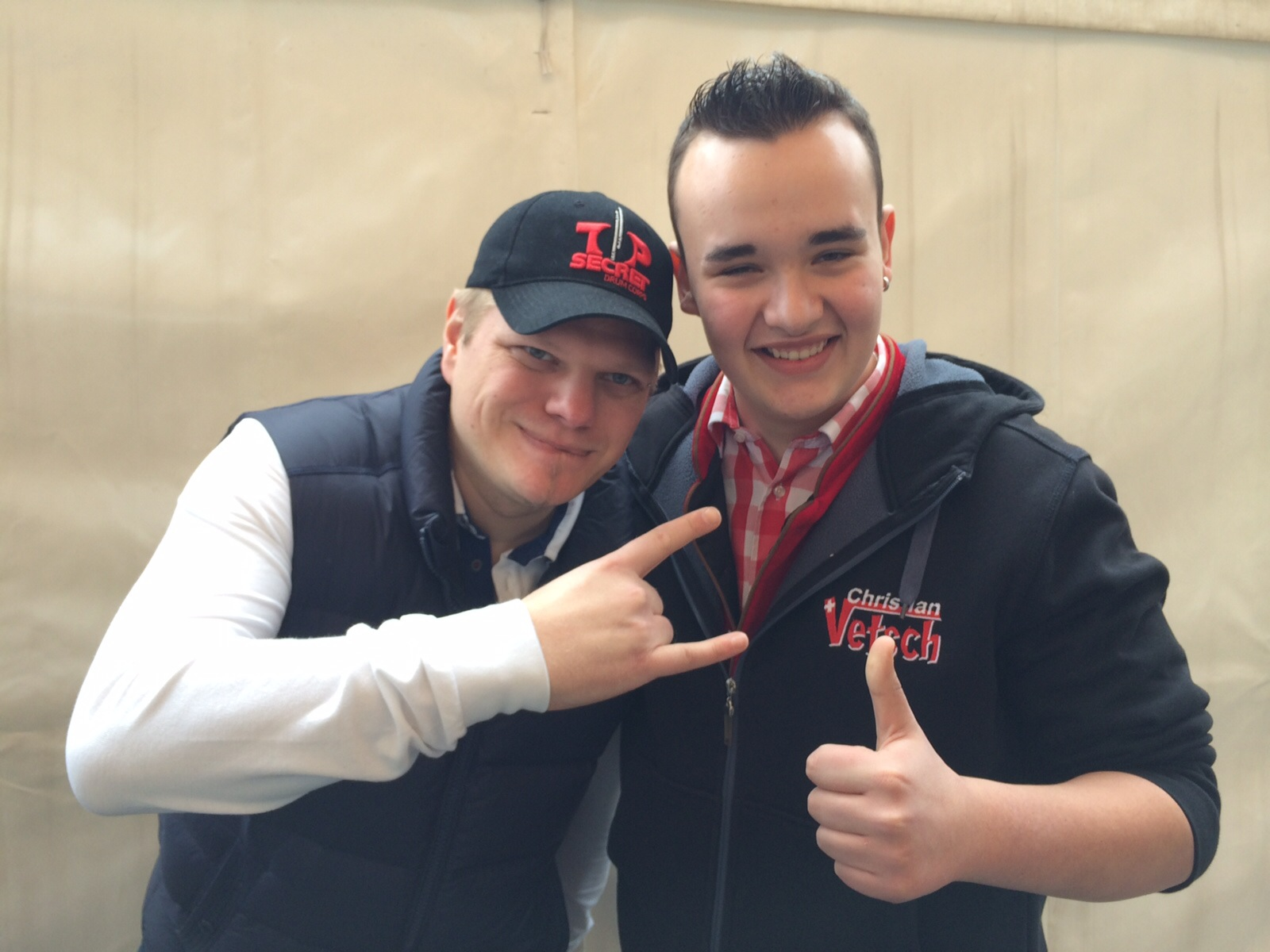Wolfgang Lindner und Christian Vetsch