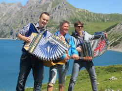 Geri der Klostertaler, Alex Pezzei und Christian Vetsch.jpg