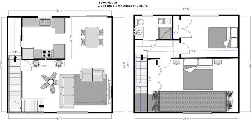 Two Bedroom Town House.jpg