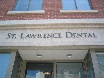 Toronto Dentist Downtown St. Lawrence Market Old Town Storefront