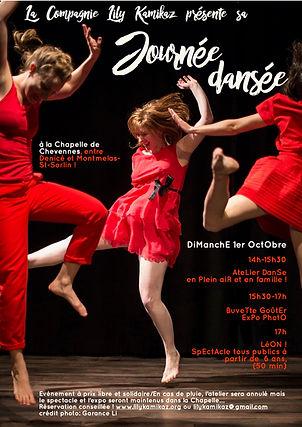 Journée dansée 2017