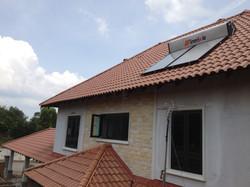 Green Solar Hot Water Heater