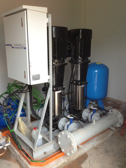 Grundfos Variable Speed Booster