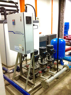 Gigamate Grundfos Variable Speed Booster Syste