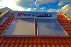 GIGAMATE Green Solar Hot Water Heater - Titanium Series