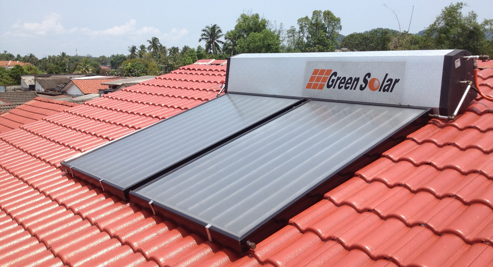 Green Solar Hot Water Heater