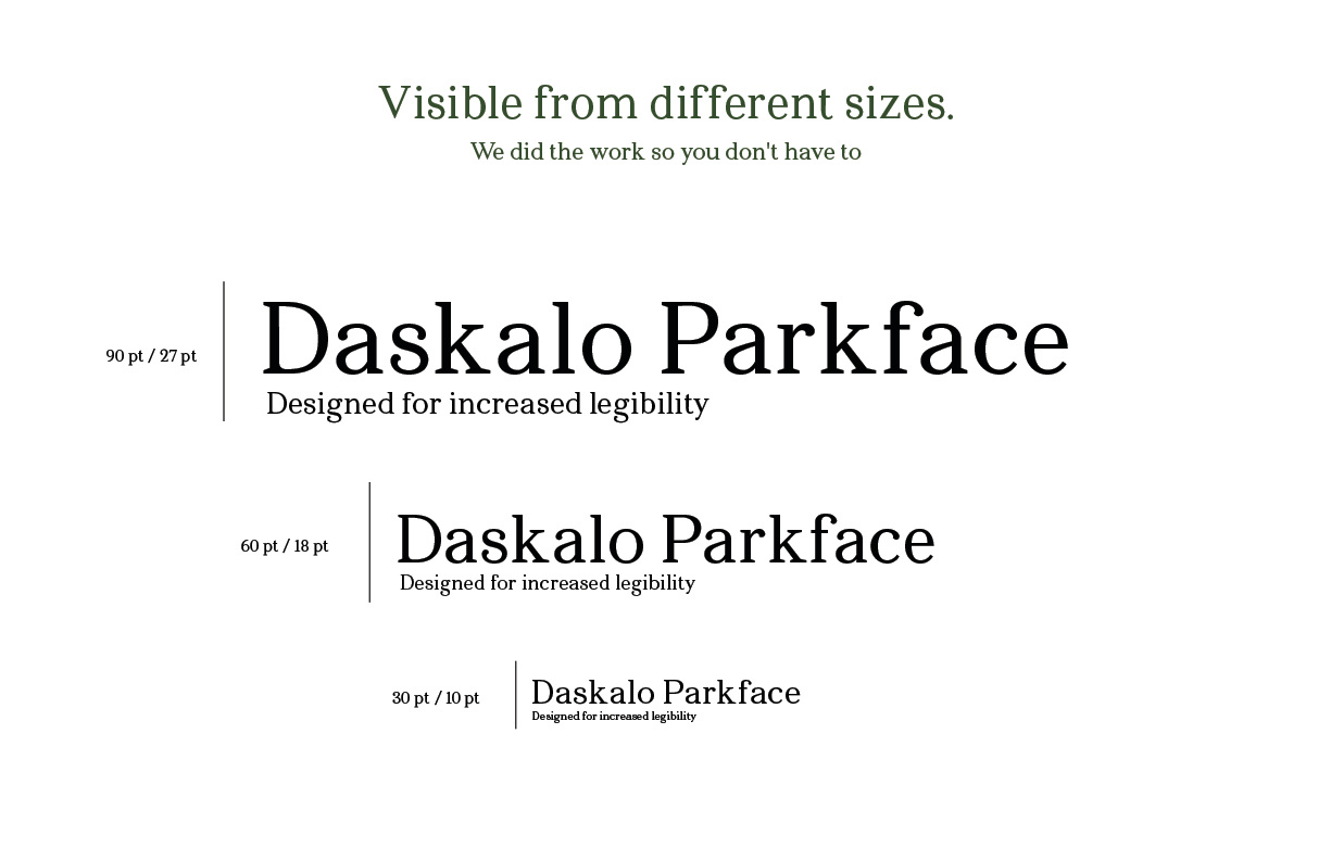 Daskalo Parkface Scale